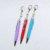 Promotional Stationery Metal Crystal Stone Ball Pens Gift Rhinestones Pen With Keychain