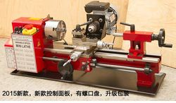 machine tool Mini lathe machine desktop for household with lathe machine accessories