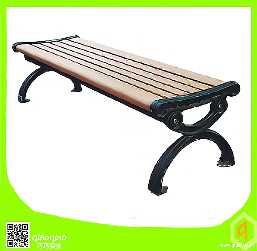 Park Bench, Cast Iron Garden Bench Leg, Park Decorative Outdoor Wooden Bench