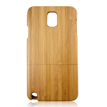 Custom personal design phone shell carbonized bamboo wooden case factory low price back cover for Samsung Note3