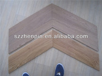 prefinished oak wood chevron parquet flooring pitched wood flooring brushed white washed