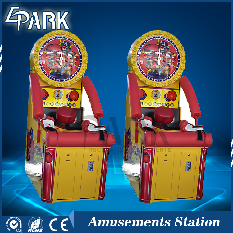 Indoor Sports Amusement Arcade Machine Champion Boxing Punch