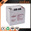 Most popular first class quality recyclability 12V 24ah solar energy storage battery