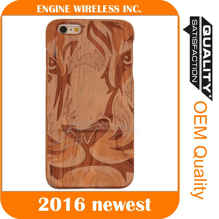 wooden cell phone case cover case for zte blade a452 mobile case cover