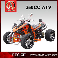 Jinling EEC cheap 4x2 atv 250CC Road Legal Quad for sale