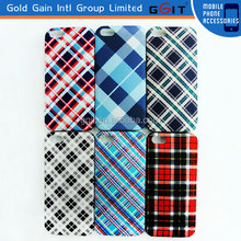 Wholesale China Silicone Case For Samsung For Galaxy S5 With Tartan Design