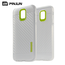 Best selling products 2017 carbon fiber skin cover for galaxy j7 2017 / j7 pro / j730f