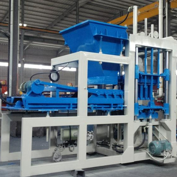 QT4-15 automatic press brick block machine for concrete brick making machine
