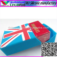 Blank Mini Cute Silicone Cigarette Case(FDA, ROHS)
