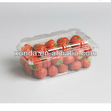 Disposable plastic strawberry punnets
