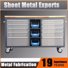 Workshop garage metal tool storage cabinet box