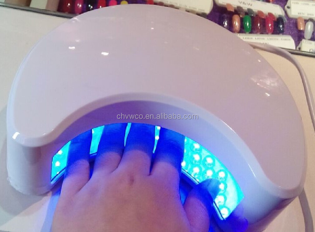 Factory supply 9W LED UV Gel nail lamp