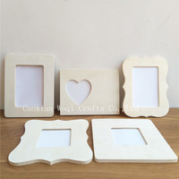 Love Wooden Picture Frame high quality design stand digital kraft paper picture photo frame