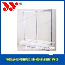 2013 Nice look clothes black metal wire display rack