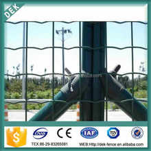 2''x2'' pvc coated euro wire mesh fencing dog kennel