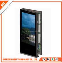 Large size Hot sale top quality 500cd/m2 remote touch kiosk double control wireless digital signage