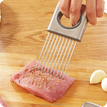 Easy Onion Holder Slicer Tomato Cutter No More Stinky Hands