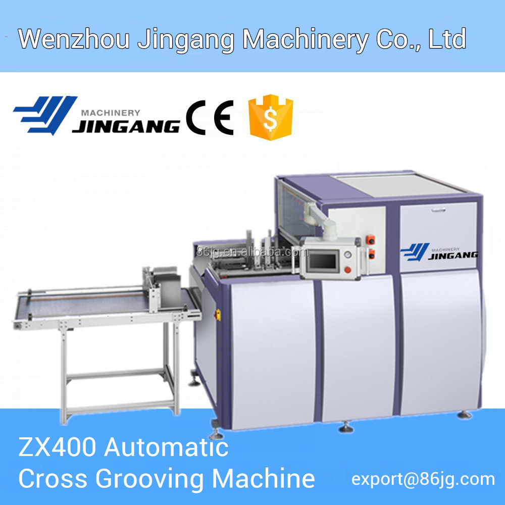 ZX400 Automatic Cross V Grooving Machine V Groover Wood -JINGANG MACHINERY