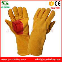 Factory cow leather industrial safety product gloves