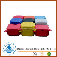 High quality Marina plastic used floating dock different colour for sale in guangzhou