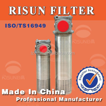 excavators parts hydraulic oil filters