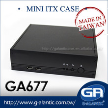 GA677 - Best Desktop Steel Digital Signage Mini ITX PC Case