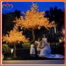 Alibaba TOP10 LED Lighting artificial red maple tree