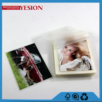 Yesion 2015 New Product High Glossy Photo Album Laminating Film, Hot Lamination Film Puch