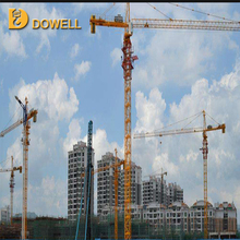 Chinese manufacture small 6t Mobile Traveling Tower Crane