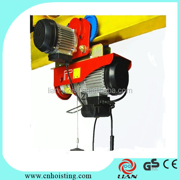 Eletric crane Type and CE Certification Electric Wire Rope Hoist