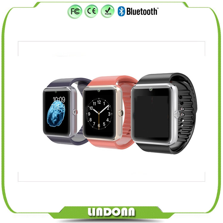 GT08 New Android Bluetooth sim card smart watch phone for sumsung iphone 6