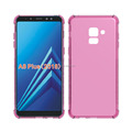 alpha design collision avoidance antiskid tpu case for Samsung A8 plus 2018 soft cover