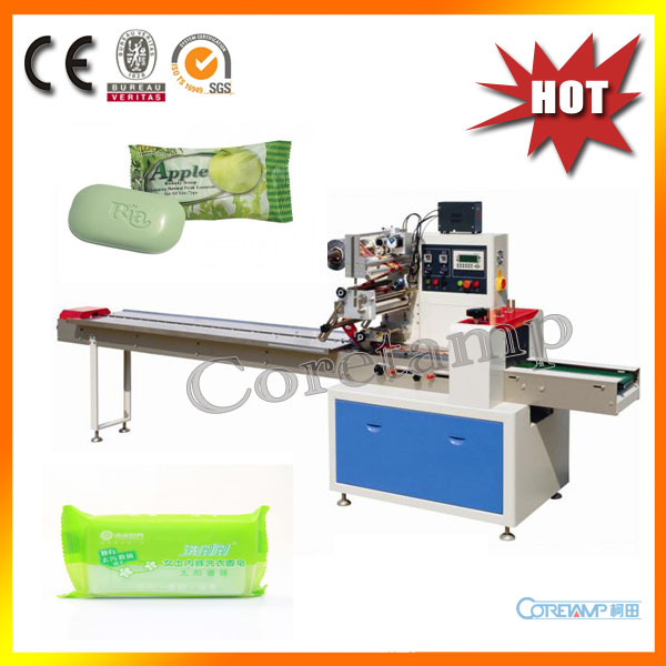 New Automatic Pillow Flow Soap Packing Machine