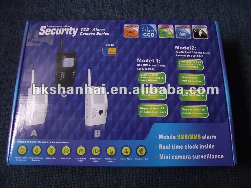 Promotion hot selling mobile sms alarm sensor