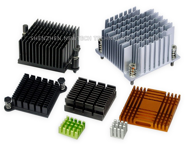 Dongguan custom 250mm aluminum extrusion heatpipe flat heat sink case
