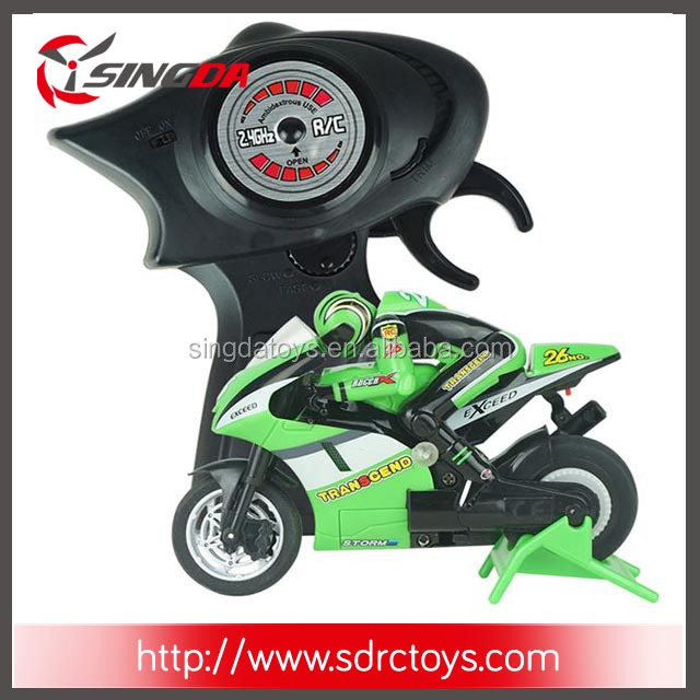 Hot Sale 2.4G Mini RC Motorcar Control Motorcycle For Sale