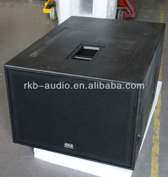 "Dual 18"" long-throw high power speaker subwoofers-SB1000Z"