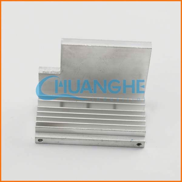 Made in China Fastener big section heat sink aluminum extruded profile for industrial