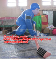 2016 Inflatable Ice Hockey Player for Ice Hockey School Promotion