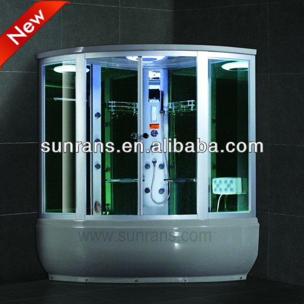 2016 hot sale high quality europe outdoor garden shower fashion steam shower room