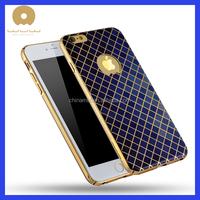 Decorative silicone cell phone case,back cover printing with gold line for iphone