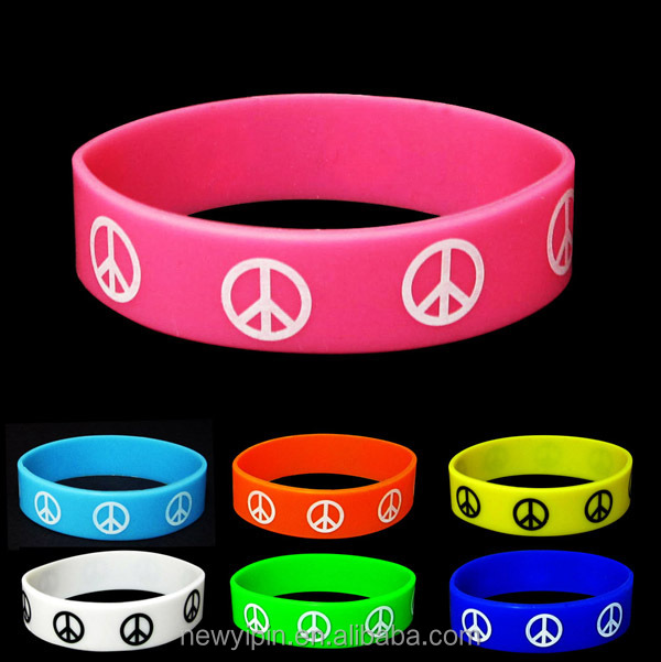 Promotional Gifts Cheap Silicone Wristband LOGO OEM Silicon Wristband with cheap prices