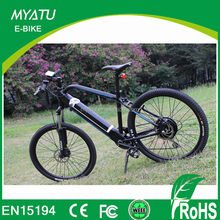 Hidden battery 36V/16 ah panasonic electric mountain bicycle