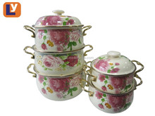 high quality enamel casserole set