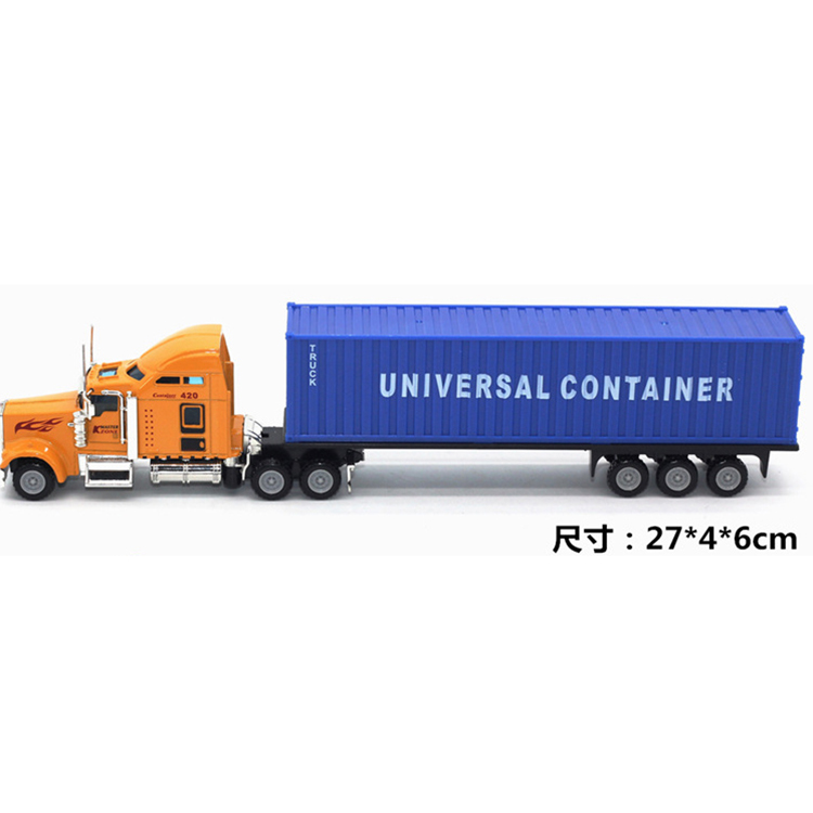 portable Die cast truck model toys China manufacturer