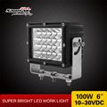 China manufacturer high power crane forklift Cree 100w led flood work light