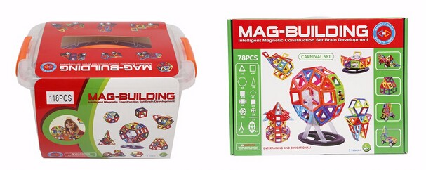 Magformers Mag Building Block Montessori Teaching Aids Educational Construction Toys