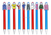 China industry personalized custom school stationery cheap promo pens/ promotional products wholesale ball pen