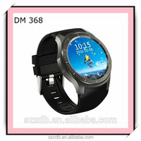 Factory new private mouldDM368 watch mobile phone WIFI heart rate meter weather forecast GPS positioning 3G Andriod smart watch