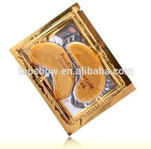 Private Label Products Moisturizing 24K Gold Collagen Crystal Eye Mask For Eye Care